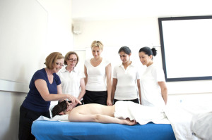 massage training at our London training school