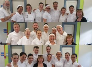 Richdales studnets on massage courses in London