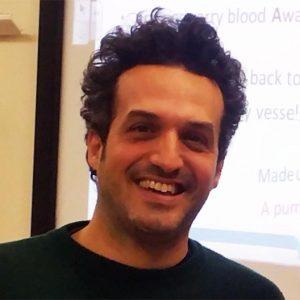 Giorgio Ritucci a massage student at Richdales